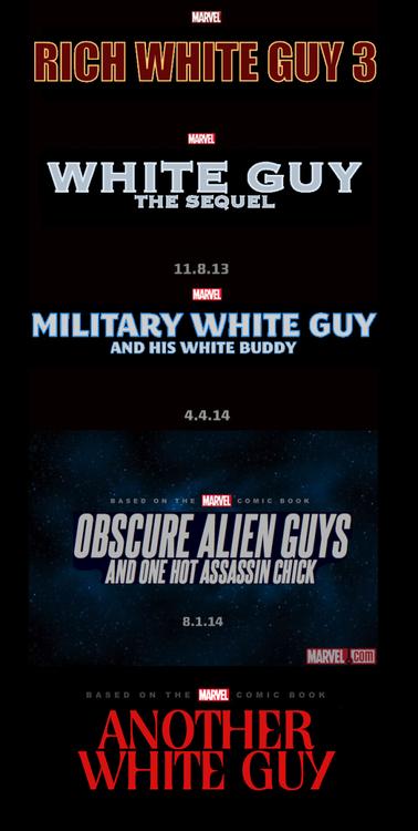 Marvel White Movies