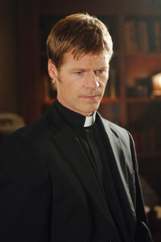 Joel Gretsch as Father Jack on V