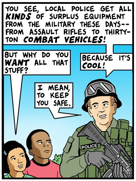 Armed Rioters