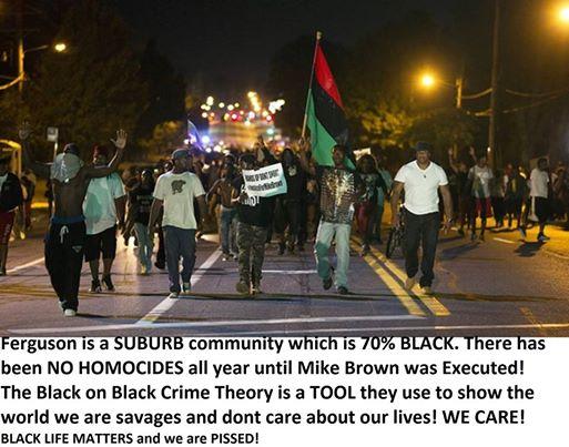 black crime myth
