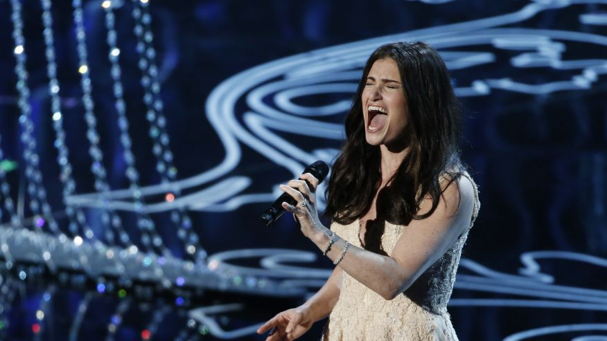 idina menzel singing reuters