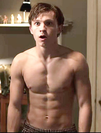 Tom-holland-shirtless